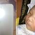 Sanggol, Nabulag dahil sa Flash ng Cellphone