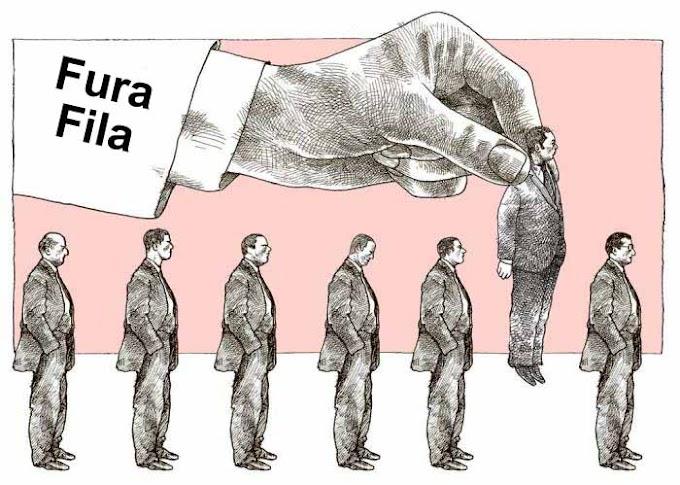 Jornalistas furam fila da vacinação