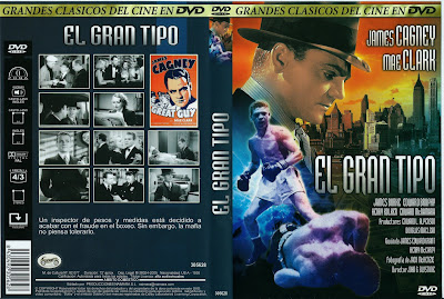 Carátula dvd: El gran tipo (1936) Great Guy (Pluck of the Irish)