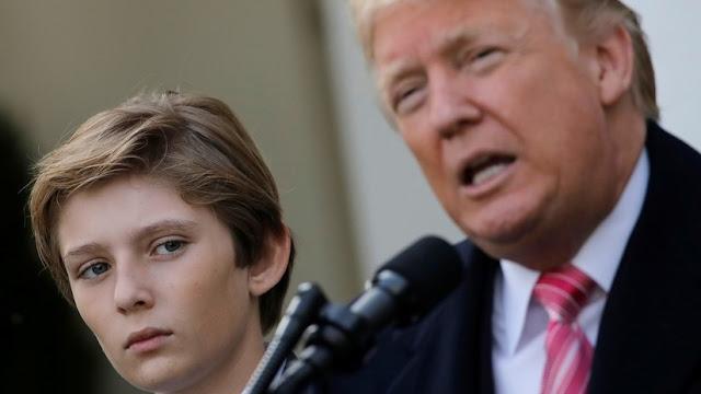 """Trump desaconseja a su hijo jugar al fútbol americano porque es """"peligroso"""""""