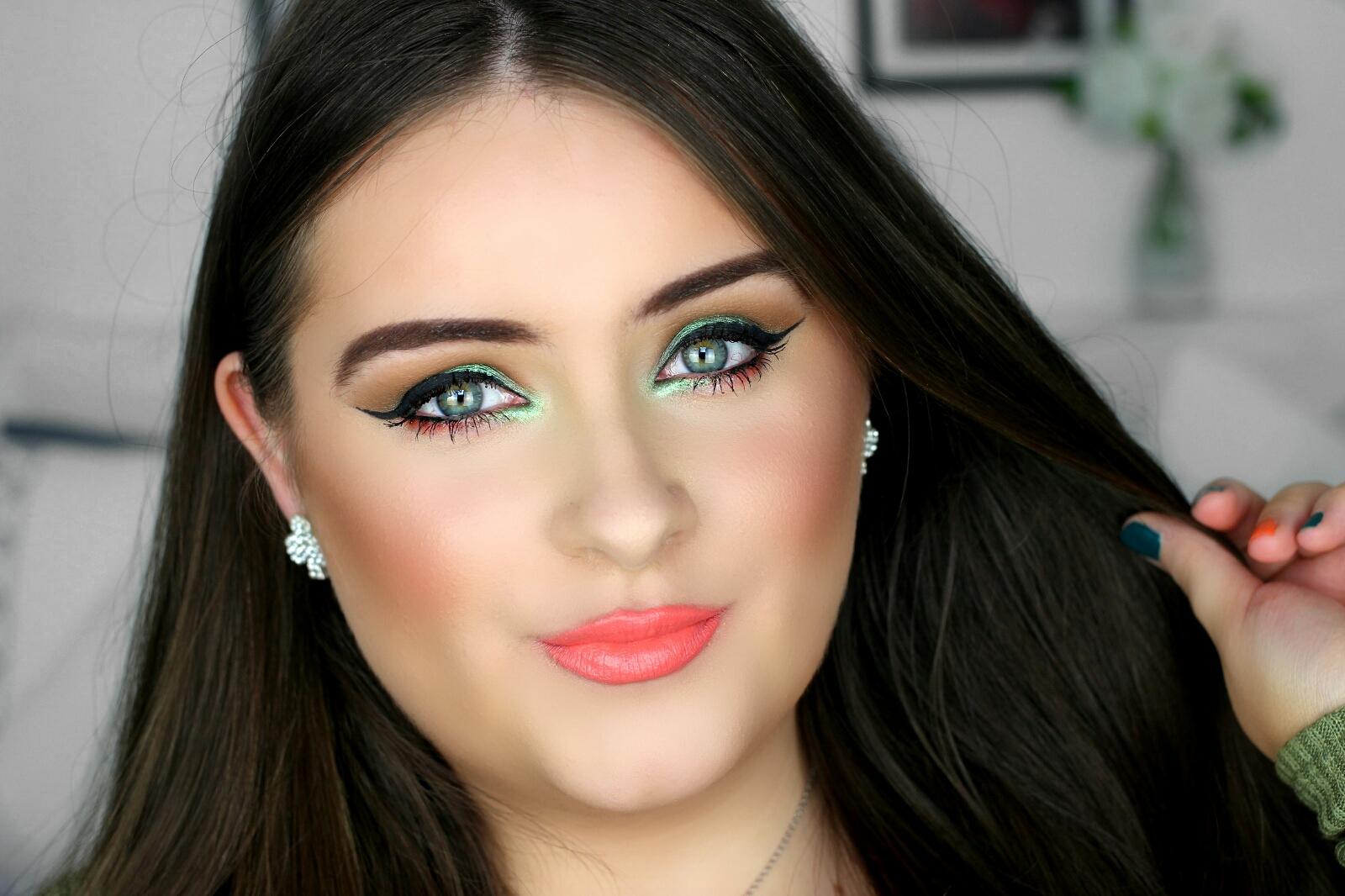 Green eye makeup tutorial jodie caughey green eye makeup tutorial baditri Image collections