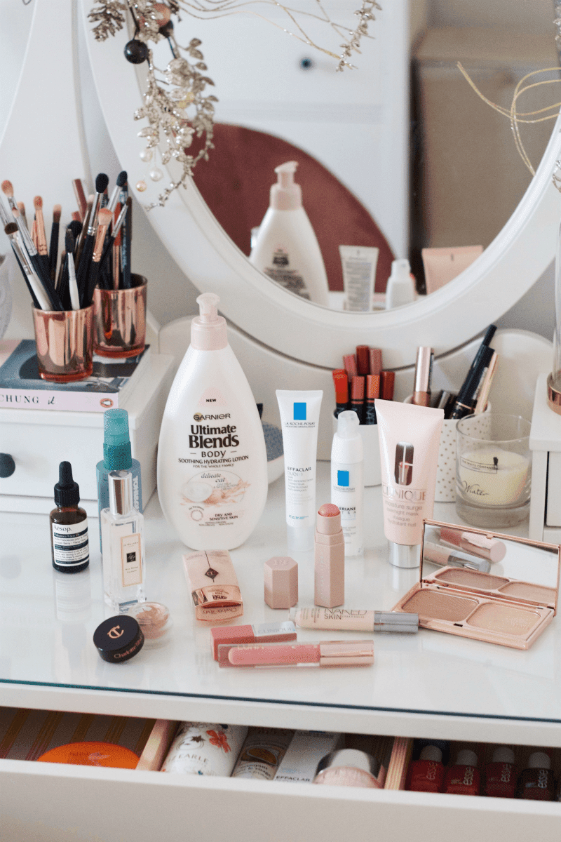 Weekend beauty routine