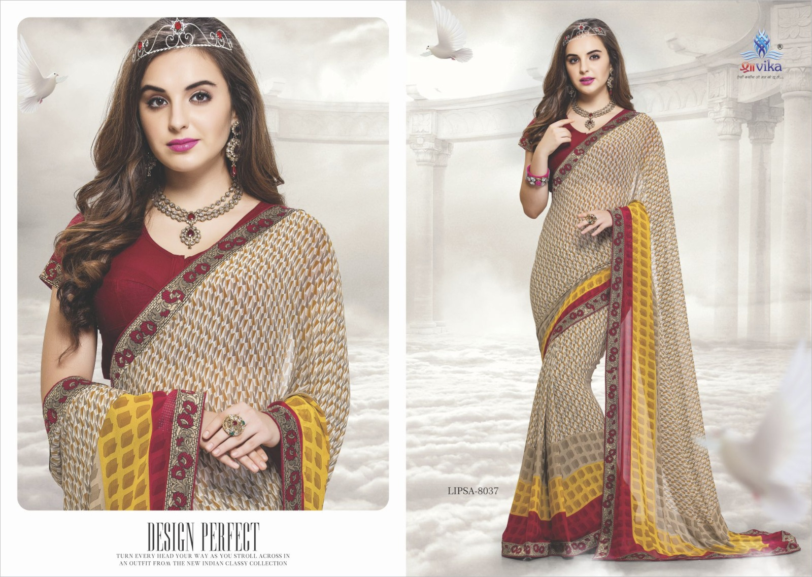 Lipsa – Casual Wear Different Designer Printed Saree Exporter