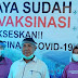 43 Anggota PWI Lampura Mendapatkan Vaksinasi Covid 19