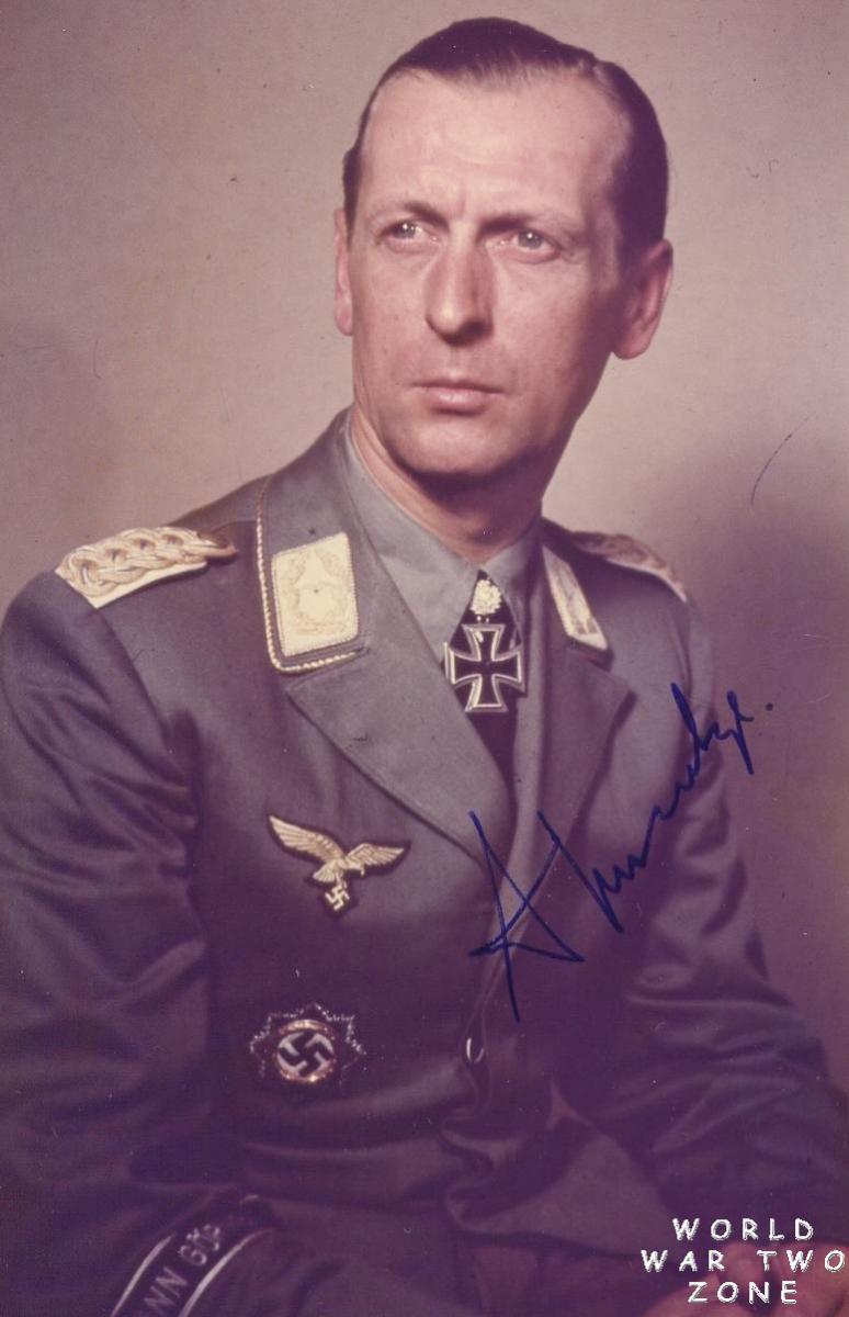 Third Reich Color Pictures Generalleutnant Wilhelm Schmalz