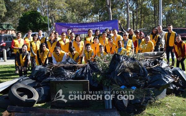 North Side Clean Up Raises Awareness, Brisbane