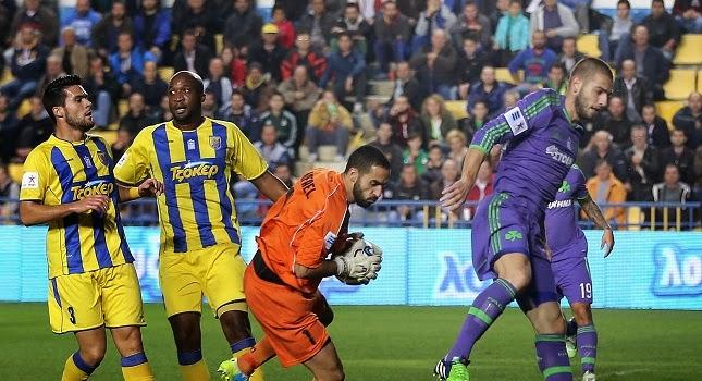 ΒΙΝΤΕΟ: Παναιτωλικός - Παναθηναϊκός 0-1 (Το γκολ του Πέτριτς)