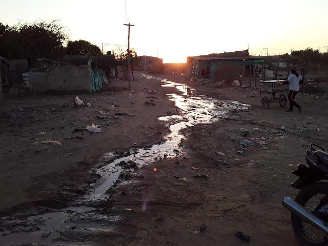 Invasores rompieron tubería del acueducto de Riohacha
