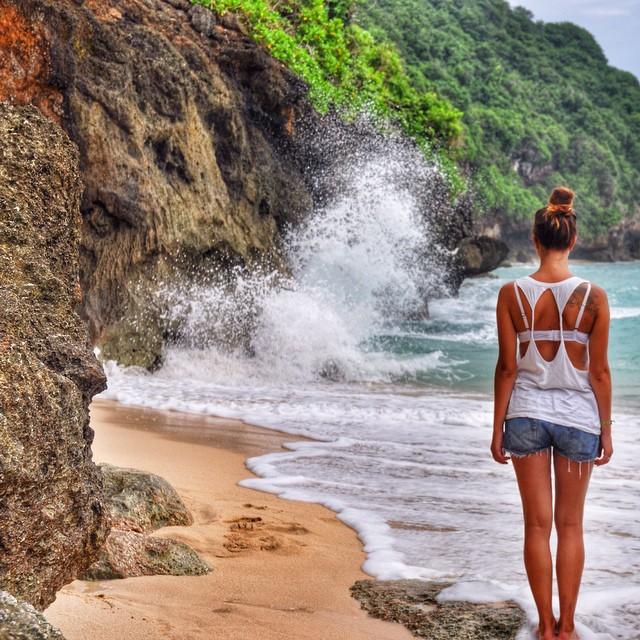 Pantai Green Bowl, Pantai Indah Untuk Menikmati Kesendirian di Bali