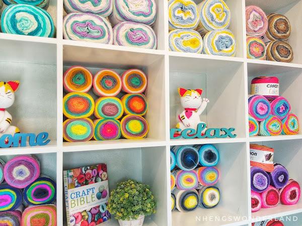 Yarn Heaven: The Attic Yarn & Craftery in Marikina