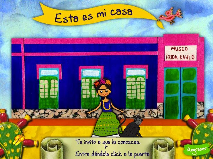 Frida Kahlo In The Elementary Spanish Classroom