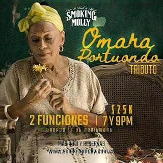 """CONCIERTO """"Jazz Tributes: Omara Portuondo"""" en Bogotá"""