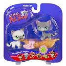 Littlest Pet Shop Pet Pairs Siamese Cat (#125) Pet