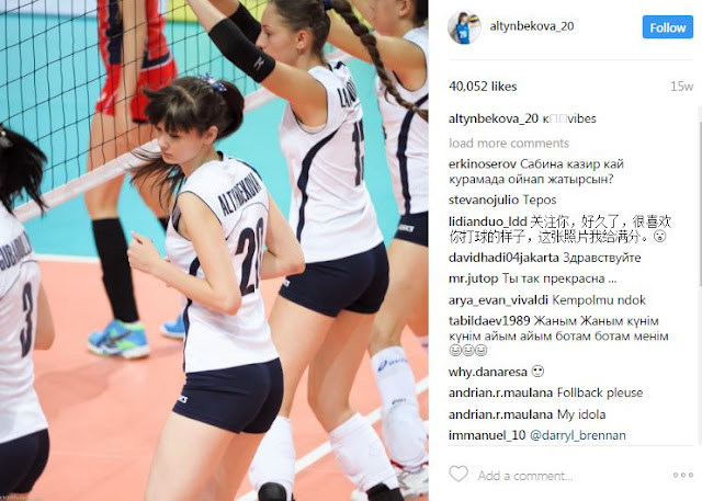 This 17-Year-Old Volleyball Player From Kazakhstan Was Bashed for Being 'Too Beautiful'!