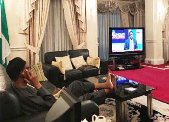 Buhari UK vacation