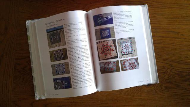 Blog2Print Blog Book as Quilt Journal