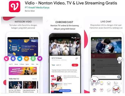 aplikasi live streaming
