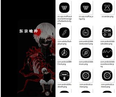 Tokyo Ghoul v2 Theme itz For Vivo