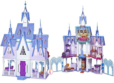 Кукольный дом ледяной замок Арендель из мультика Холодное сердце