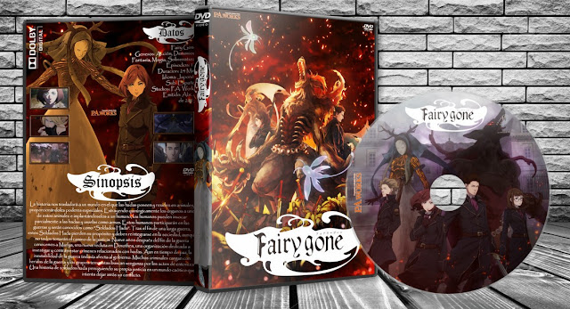 Fairy Gone | Cover DVD |