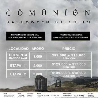 COMUNION Halloween Bogota Colombia 2019