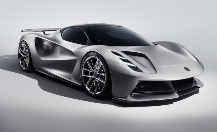 Siêu xe Lotus Evija vượt mặt Bugatti Chiron khi tăng tốc 0-300 km/h