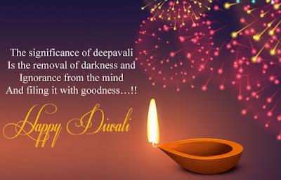 Happy Diwali Wishes in English