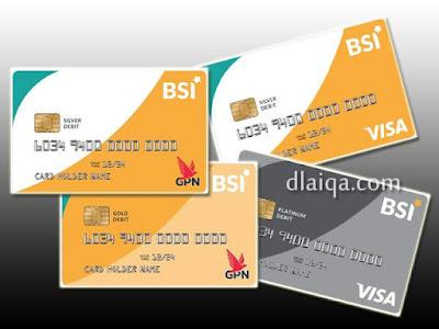 Jenis Kartu Debit-ATM BSI