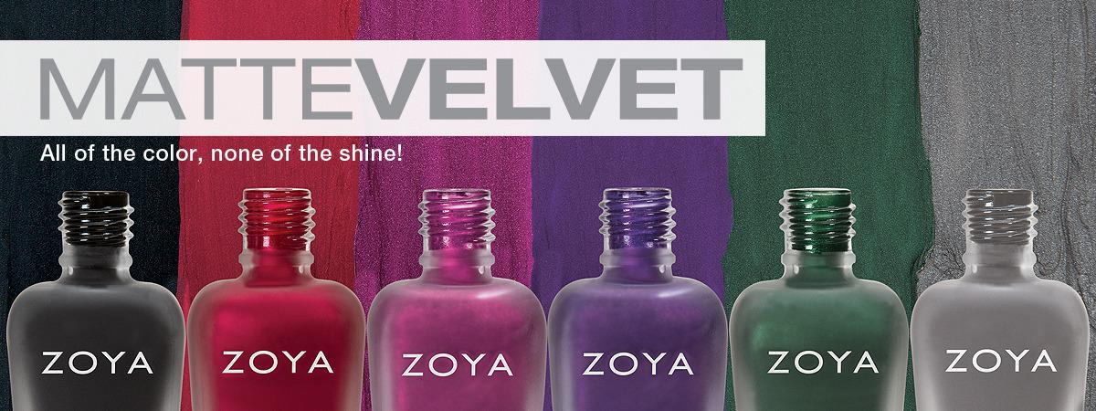 Zoya Matte Velvet