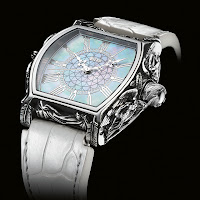 Strom Angelus Watch front white