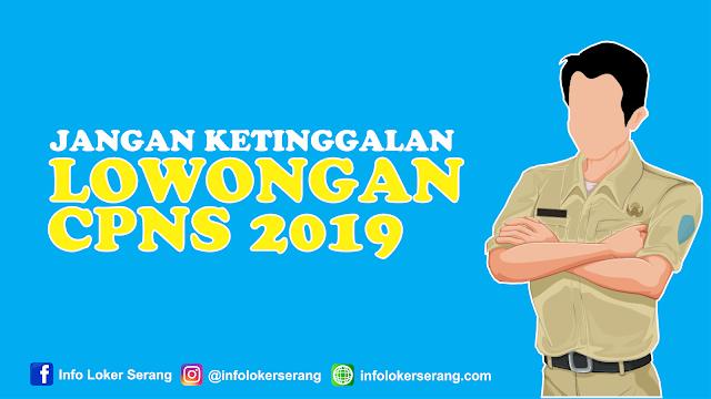 Berikut Formasi CPNS 2019 di Seluruh Kabupaten dan Kota Provinsi Banten