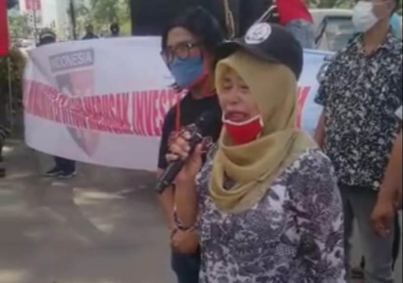 Tangisan Emak-emak di Pemko, Nuranis: Keringat Saya Belum Dibayar