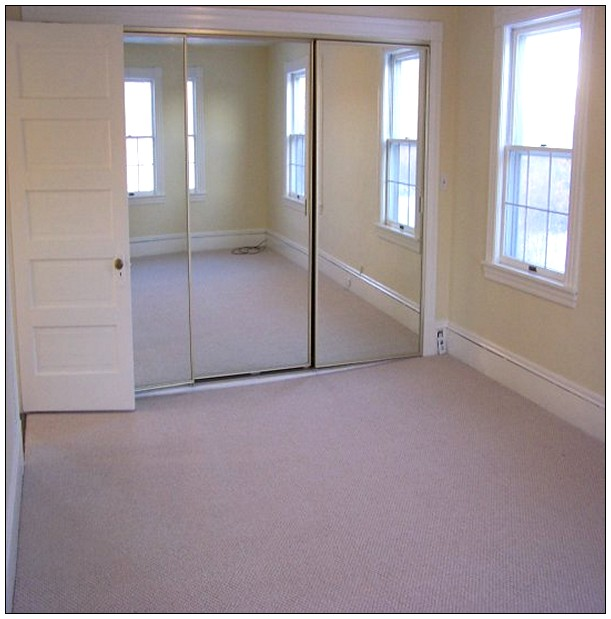 Consider Having Mirrored Closet Doors Installed Especially In A Smaller Room To Help Give The Impression That E Is Much Larger Than It Really