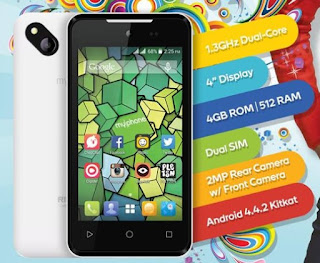 MyPhone RIO 2 Craze, 4-inch Dual Core KitKat for Php1,999