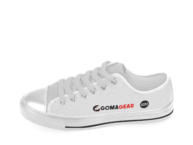 GOMAGEAR LOGO LOW CUT SNEAKERS - UNISEX