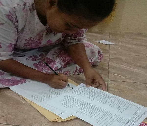 Gelar Ujian Daring, PKBM BPI Himbau WB Agar Maksimal Mengerjakan Soal