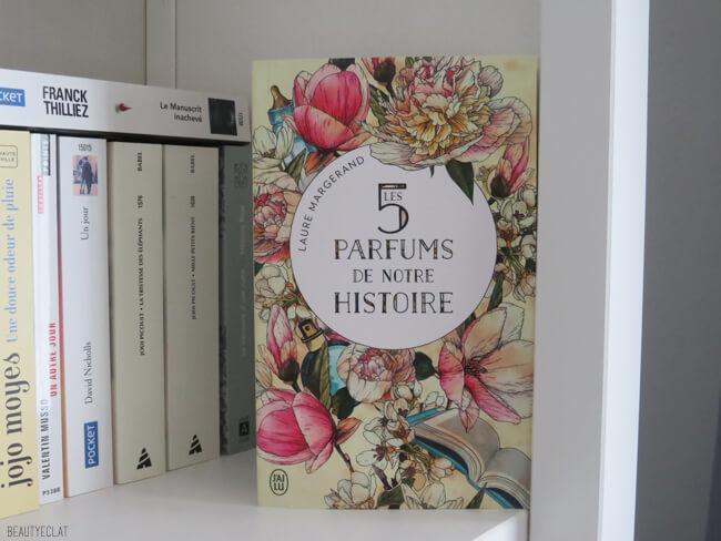bookhaul novembre 2020 5 parfums de notre histoire