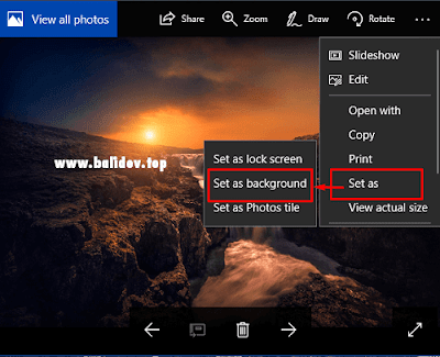 Cara Mengganti Wallpaper Windows 10