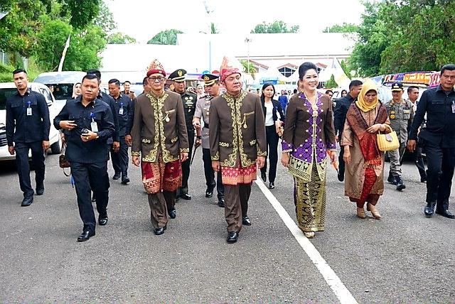 Peringati HUT PALI Ke-6, Gubernur Herman Deru Berikan Apresiasi Pada Pemkab PALI