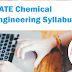 GATE Chemical Engineering Syllabus 2020 - Check Here