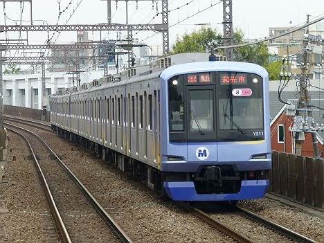 東急東横線 副都心線直通 急行 和光市行き2 横浜高速鉄道Y500系