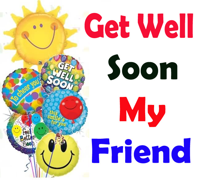 Get Well Soon Images for Friends