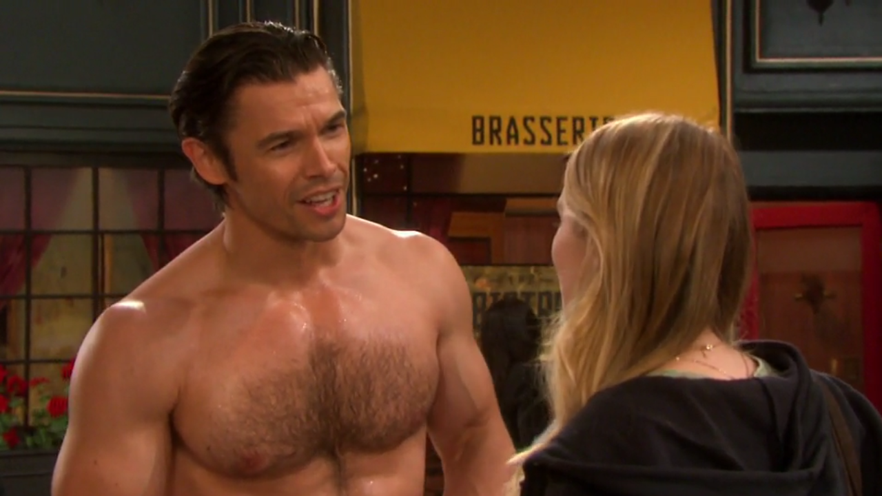 ausCAPS: Paul Telfer shirtless in Days Of Our Lives