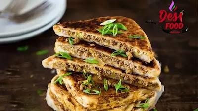 Murtabak Arbi Paratha Recipe In Urdu