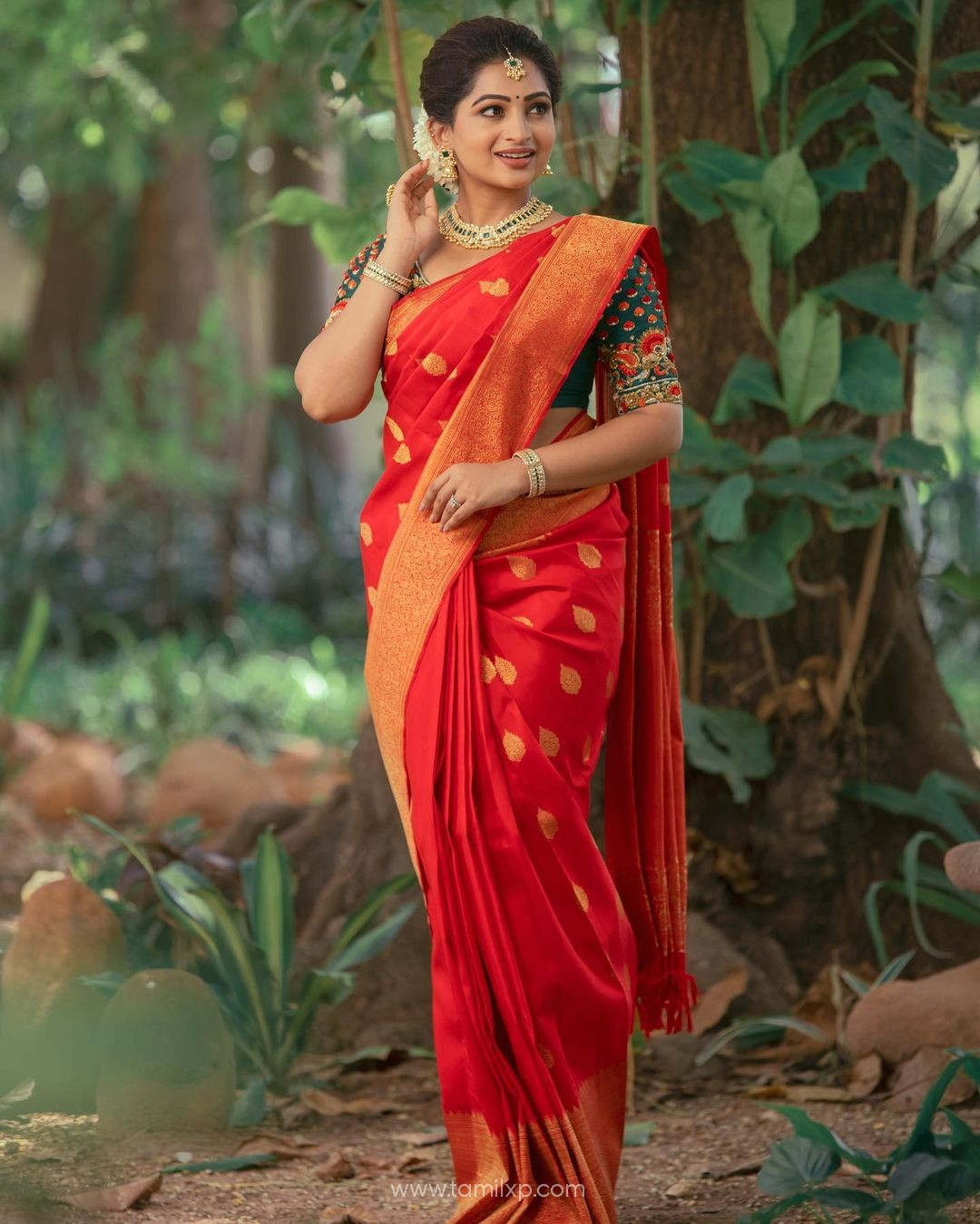 Actress Nakshathra Saree stills