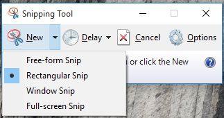 Snipping Tool Screenshot