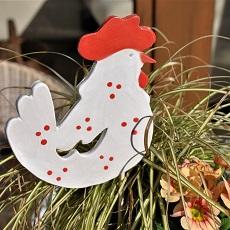 Gartenkeramik für Ostern