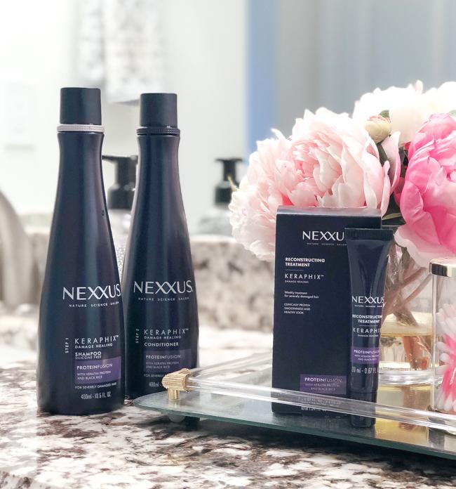 nexxus keraphix 3-step system