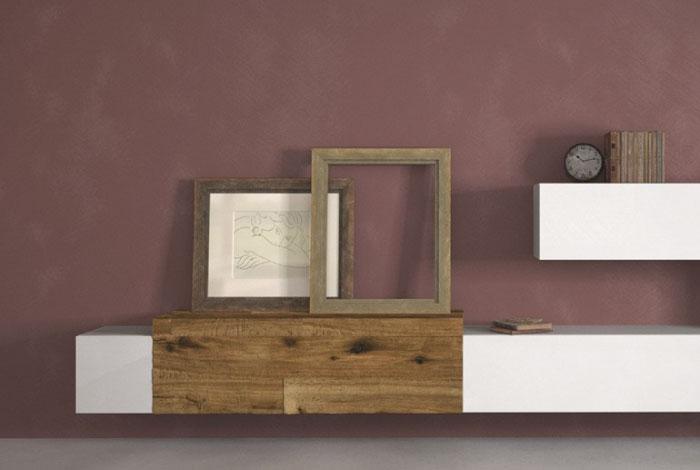 Nuovo look alle pareti di casa blog di arredamento e - Pittura decorativa pareti ...