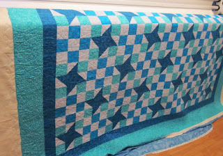 Divine Quilting: Carol's Friendship star and nine patch quilt